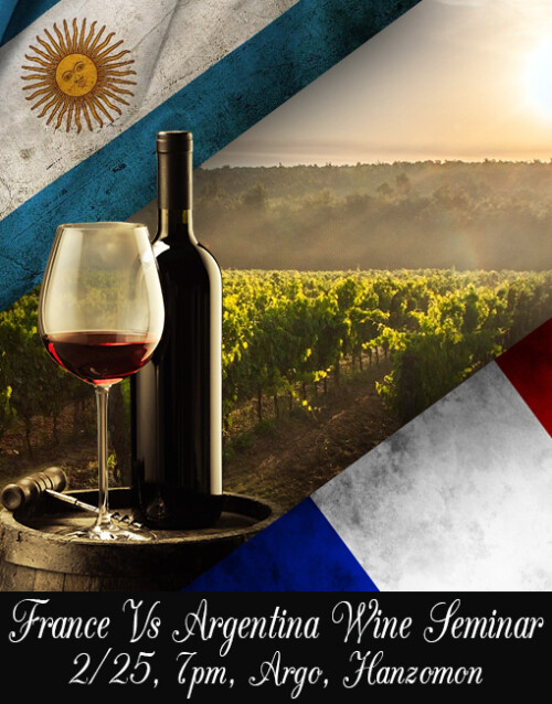 French Wine Vs. Argentinian Wine